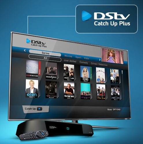 DSTV WiFi Catch up plus